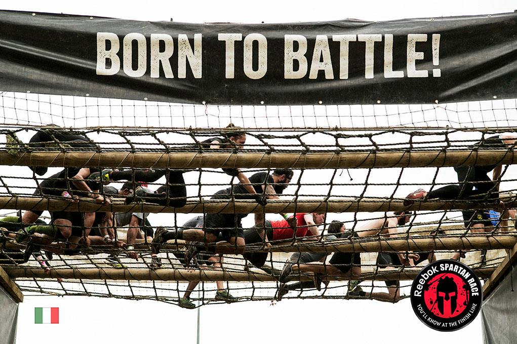 BORN TO BATTLE: cargonet Photo By Reebok Spartan Race
