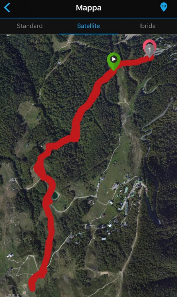 Breve percorso all'Alpe di Mera.