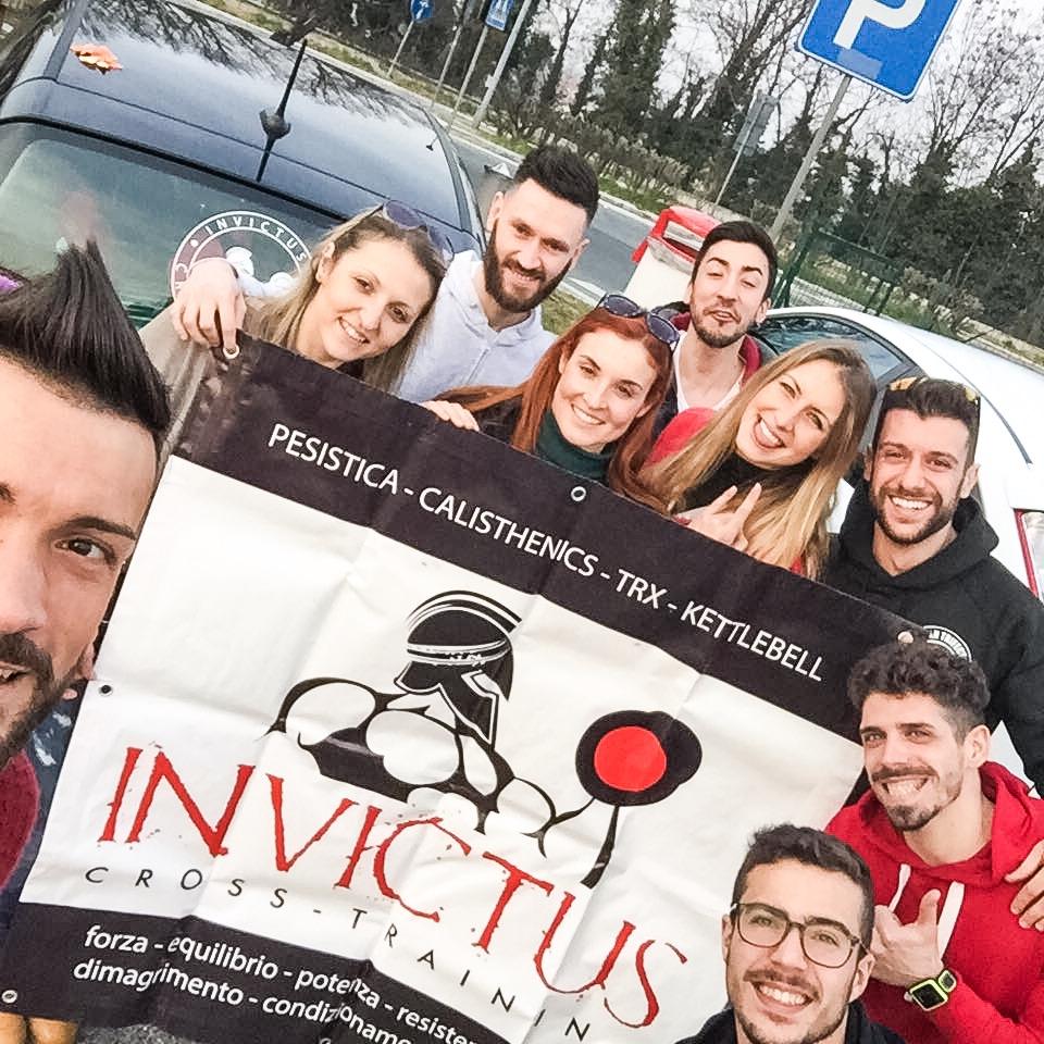Parte del team di Invictus: la nostra forza!