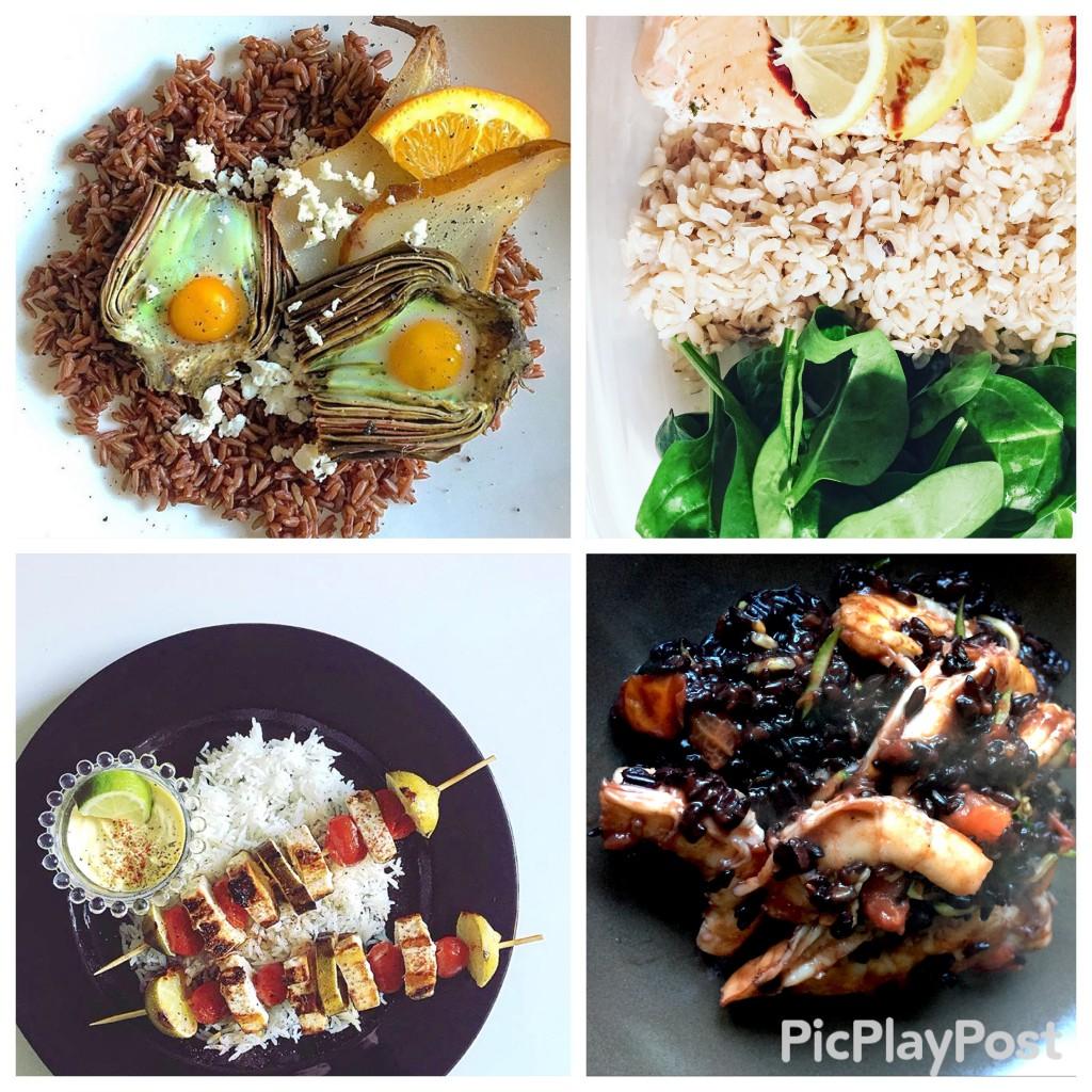 Alcune ricette che abbiamo sperimentato: da sinistra Melissa's kitchen - Erica's kitchen